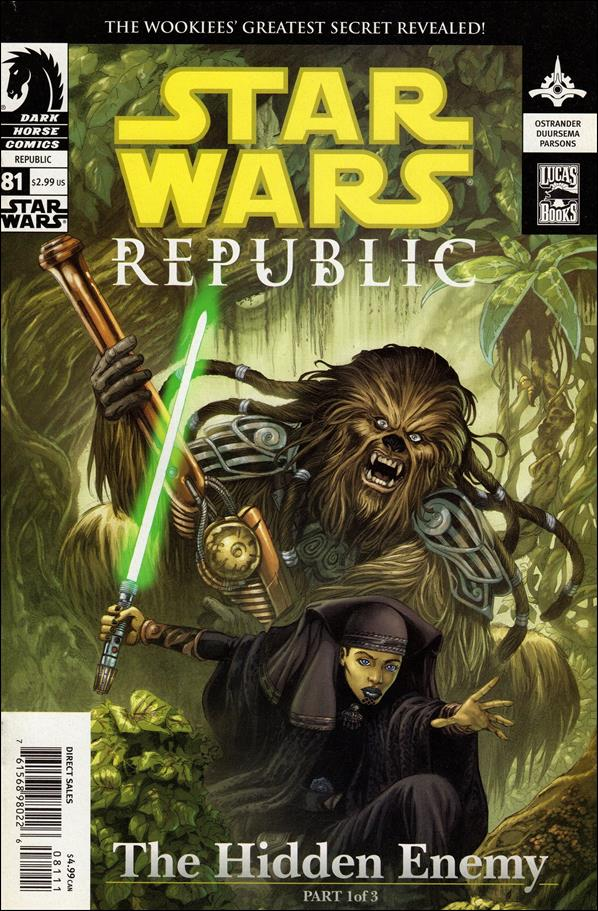 Star Wars/Star Wars Republic 81-A by Dark Horse