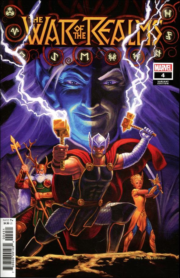 War of the Realms 4-G by Marvel
