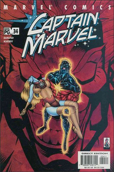 Captain Marvel (1999) 34-A by Marvel