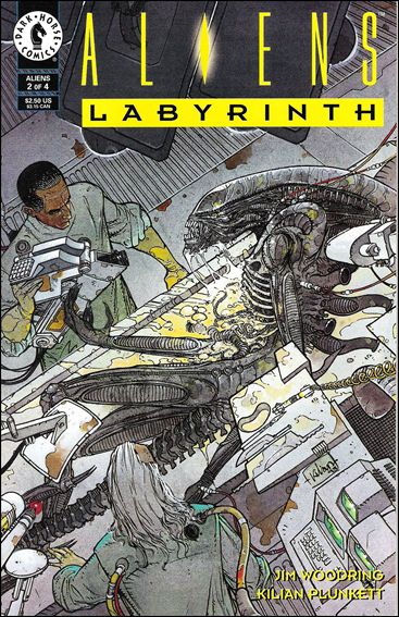 Aliens: Labyrinth 2-A by Dark Horse