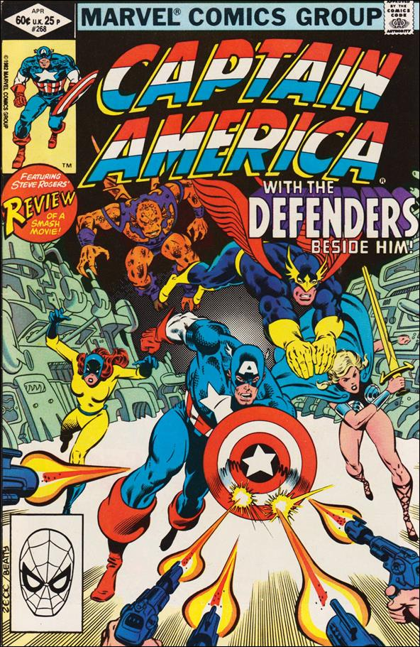 Captain America (1968) 268-A by Marvel