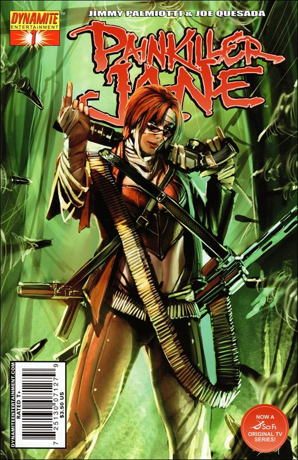 Painkiller Jane (2007) 1-B by Dynamite Entertainment