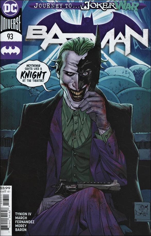 Batman (2016) 93-A by DC