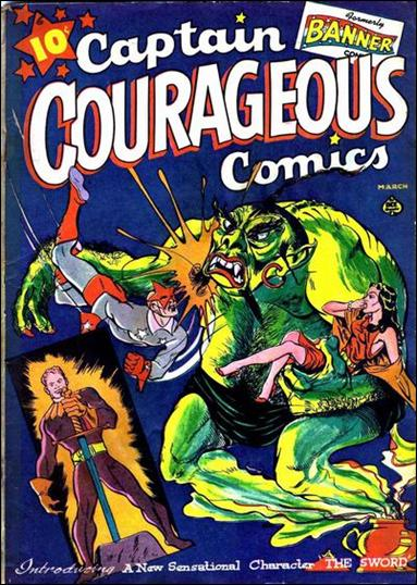 Captain Courageous Comics 6-A by Ace Magazines