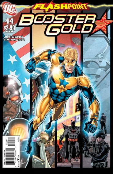 Booster Gold (2007) 44-A by DC