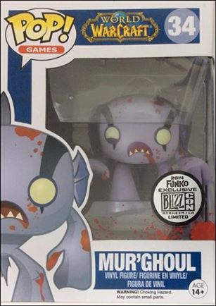 POP! Games Mur'Ghoul BlizzCon Exclusive 2014