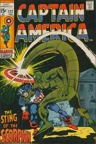 Captain America (1968) 122-A by Marvel
