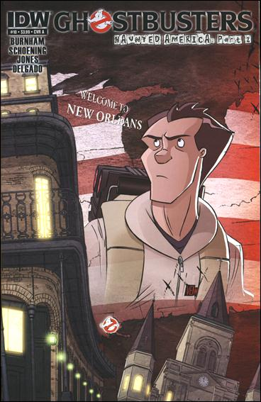 Ghostbusters (2011) 10-A by IDW