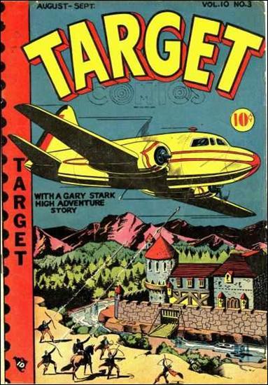 Target Comics (1949) 3-A by Premium