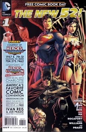 DC Comics - The New 52 FCBD Special Edition 1-D
