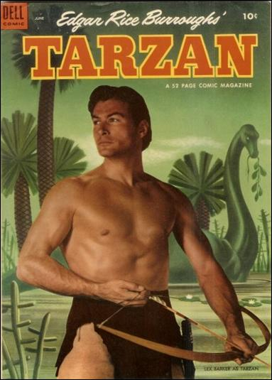 Tarzan (1948) 45-A by Dell