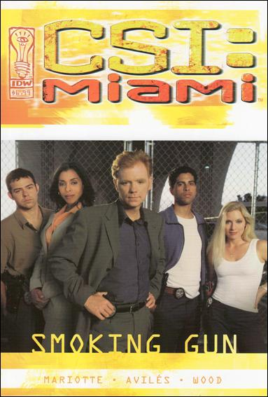 CSI: Miami - Smoking Gun 1-A by IDW
