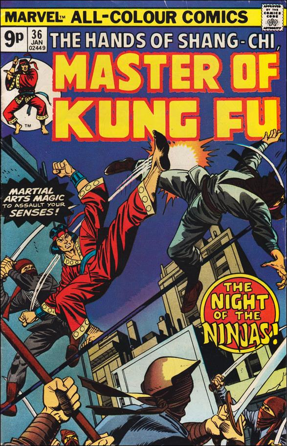 Master of Kung Fu (1974) 36-B by Marvel
