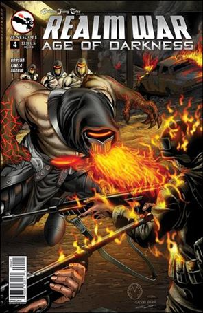 Grimm Fairy Tales Presents Realm War: Age of Darkness 4-D