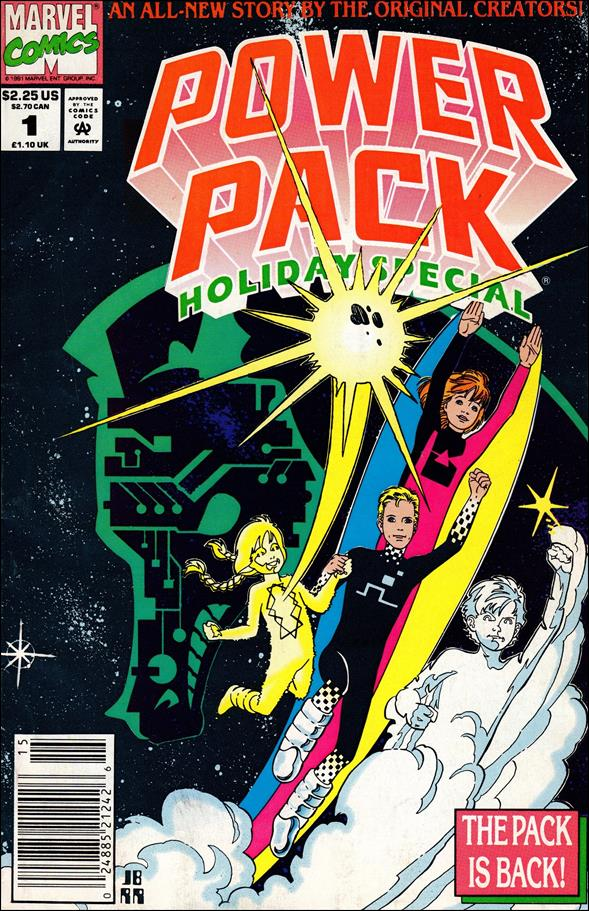 Power Pack: Holiday Special 1-A by Marvel