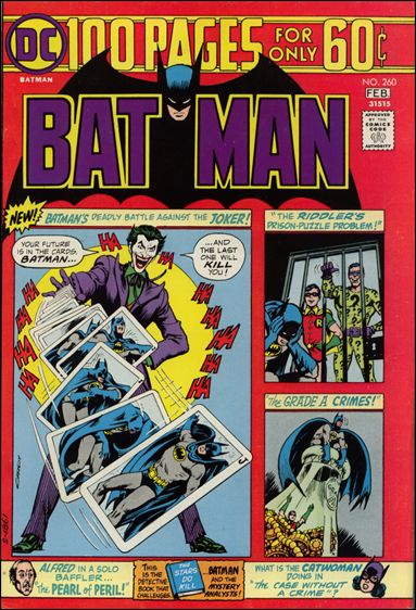 Batman (1940) 260-A by DC