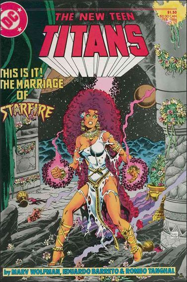 New Teen Titans (1984) 17-A by DC