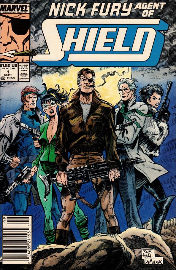 Nick Fury, Agent of S.H.I.E.L.D. (1989) 1-A by Marvel