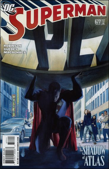 Superman (1939) 677-A by DC