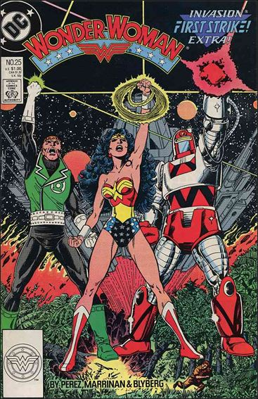 Wonder Woman (1987) 25-A by DC