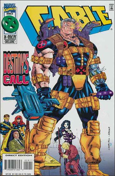 Cable (1993) 29-A by Marvel