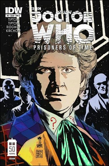 Doctor Who: Prisoners Of Time  6-A by IDW