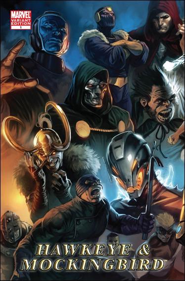 Hawkeye & Mockingbird 1-B by Marvel