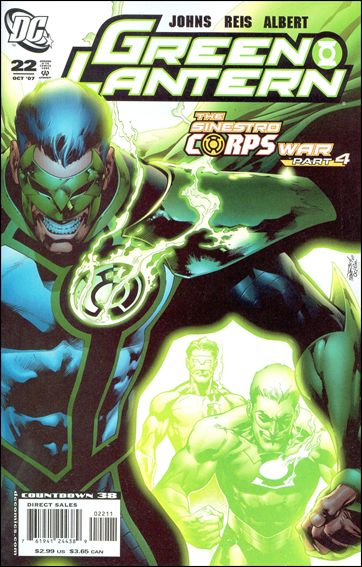 Green Lantern (2005) 22-A by DC