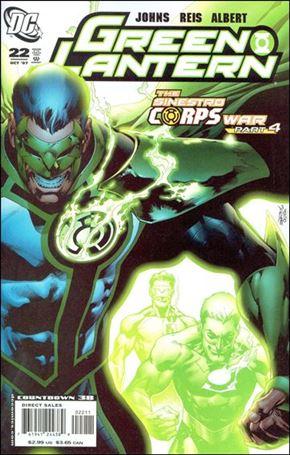 Green Lantern (2005) 22-A