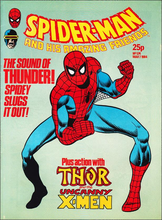 Spider-Man: Comics Weekly (UK) 574-A by Marvel UK