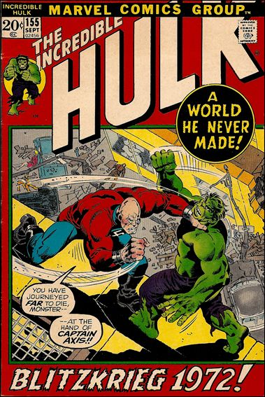 Incredible Hulk (1968) 155-A by Marvel