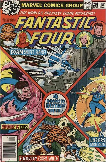 Fantastic Four (1961) 201-A by Marvel