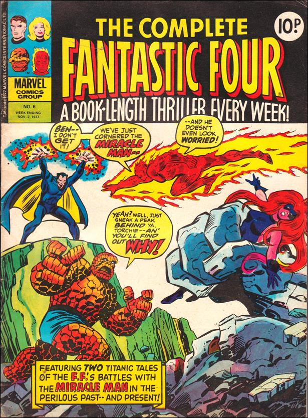 Complete Fantastic Four (UK) 6-A by Marvel UK