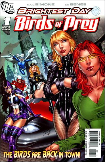 Birds of Prey (2010) 1-A by DC