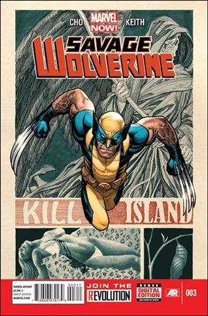 Savage Wolverine 3-A