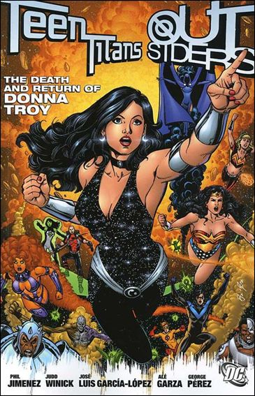 Teen Titans/Outsiders: The Death and Return of Donna Troy 1-A by DC