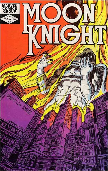 Moon Knight (1980) 20-A by Marvel