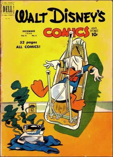 Walt Disney's Comics and Stories (1940) 123-A by Dell