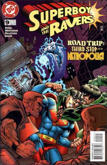 Superboy & The Ravers 9-A by DC