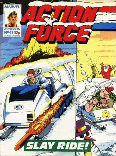 Action Force (UK) 43-A by Marvel UK