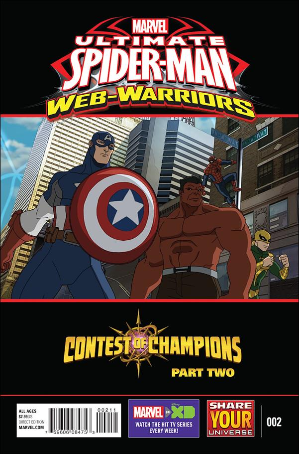 Marvel Universe Ultimate Spider-Man: Contest of Champions 2-A