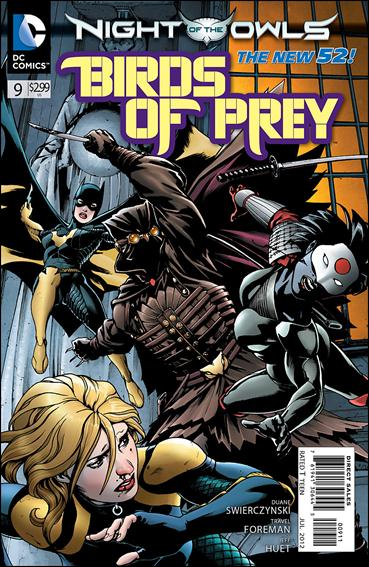 Birds of Prey (2011) 9-A by DC