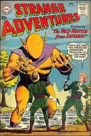 Strange Adventures (1950) 124-A by DC