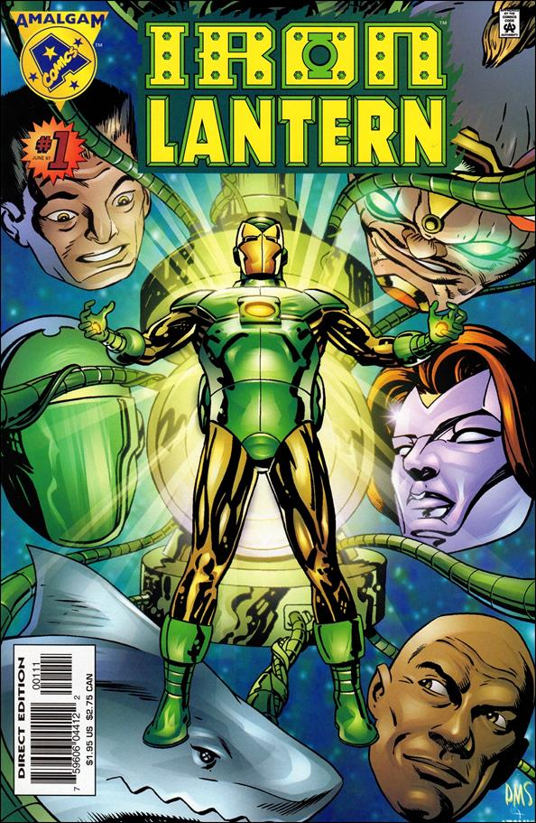 Iron Lantern 1-A by Amalgam