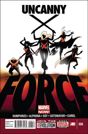 Uncanny X-Force (2013) 6-A