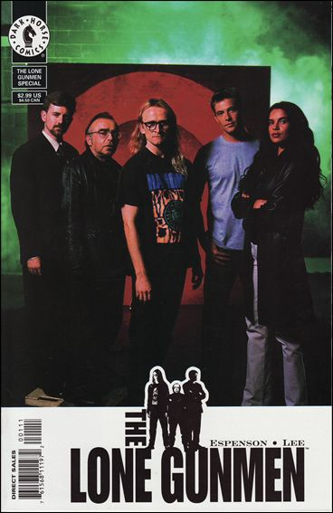 Lone Gunmen 1-B by Dark Horse