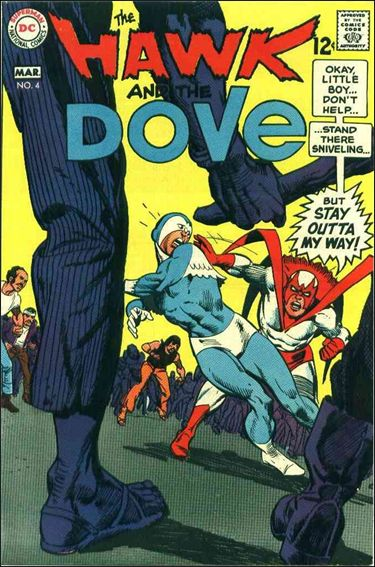 Hawk and the Dove 4-A by DC