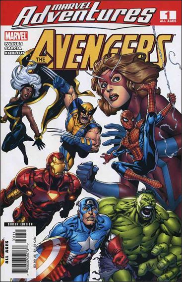 Marvel Adventures The Avengers 1-A by Marvel