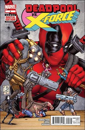Deadpool vs X-Force 2-A