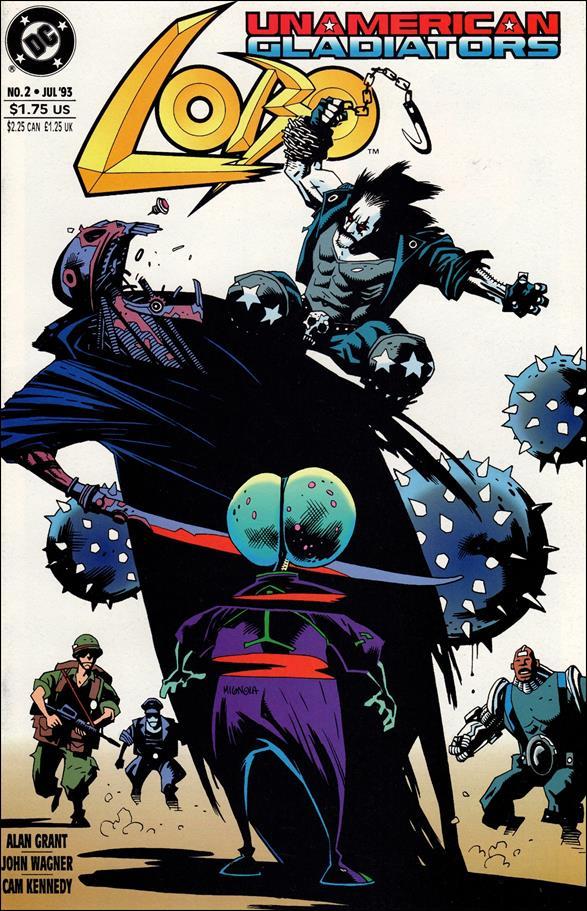 Lobo: Un-American Gladiators 2-A by DC
